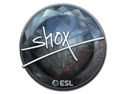 Sticker   shox (Foil)   Katowice 2019