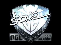 Sticker   shox (Foil)   Krakow 2017