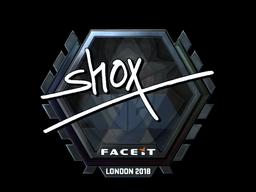 Sticker | shox (Foil) | London 2018
