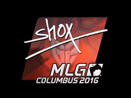 Sticker   shox (Foil)   MLG Columbus 2016