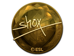 Sticker   shox (Gold)   Katowice 2019