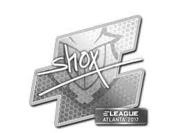 Sticker   shox   Atlanta 2017