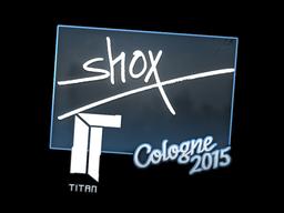 Sticker   shox   Cologne 2015