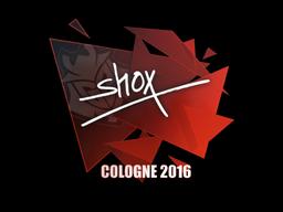 Sticker | shox | Cologne 2016