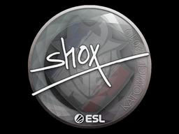 Sticker   shox   Katowice 2019