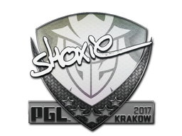 Sticker   shox   Krakow 2017