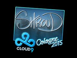 Sticker | shroud (Foil) | Cologne 2015