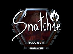 Sticker   snatchie (Foil)   London 2018