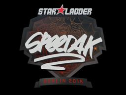 Sticker | speed4k | Berlin 2019