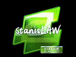 Sticker | stanislaw (Foil) | Atlanta 2017