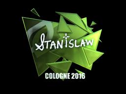 Sticker   stanislaw (Foil)   Cologne 2016