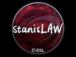 Sticker   stanislaw (Foil)   Katowice 2019