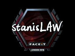 Sticker   stanislaw (Foil)   London 2018
