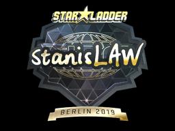 Sticker | stanislaw (Gold) | Berlin 2019