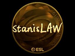 Sticker   stanislaw (Gold)   Katowice 2019