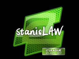 Sticker | stanislaw | Atlanta 2017