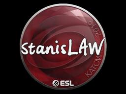 Sticker   stanislaw   Katowice 2019