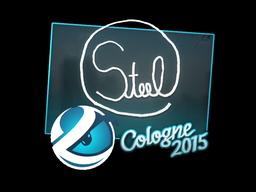 Sticker | steel | Cologne 2015