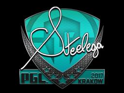 Sticker   steel   Krakow 2017