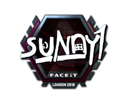 Sticker | suNny (Foil) | London 2018