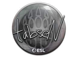 Sticker | tabseN | Katowice 2019