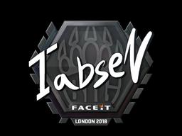 Sticker | tabseN | London 2018