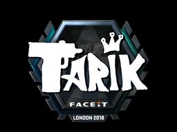 Sticker | tarik (Foil) | London 2018
