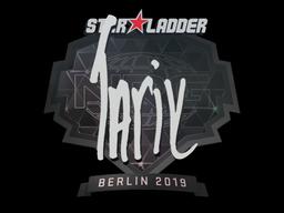 Sticker   tarik   Berlin 2019