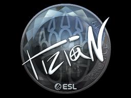 Sticker | tiziaN (Foil) | Katowice 2019