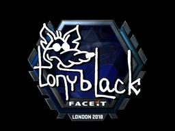 Sticker | tonyblack (Foil) | London 2018