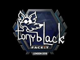 Sticker | tonyblack | London 2018