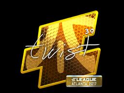 Sticker | twist (Foil) | Atlanta 2017