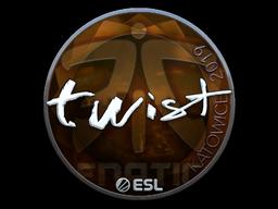 Sticker | twist (Foil) | Katowice 2019
