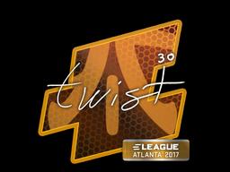 Sticker | twist | Atlanta 2017