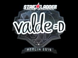 Sticker | v4lde (Foil) | Berlin 2019