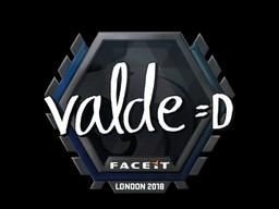 Sticker | v4lde | London 2018