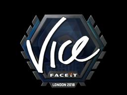 Sticker | vice | London 2018