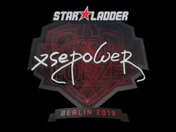 Sticker | xsepower | Berlin 2019